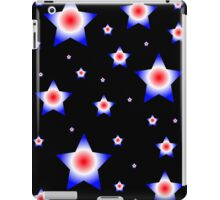 Red, Blue, and White Stars iPad Case/Skin