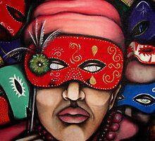 Behind the mask by helene ruiz