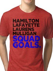 Hamilton - Squad Goals 2.0 Tri-blend T-Shirt