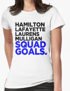 Hamilton - Squad Goals 2.0 Womens Fitted T-Shirt