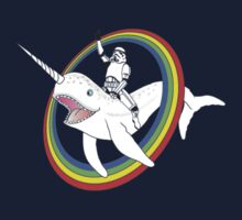 Narwhal Rainbow One Piece - Long Sleeve