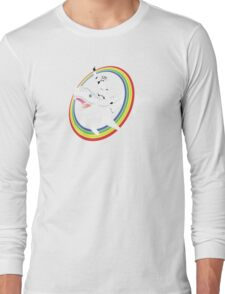 Narwhal Rainbow Long Sleeve T-Shirt
