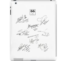 Girls' Generation (SNSD) Signature/Autograph iPad Case/Skin