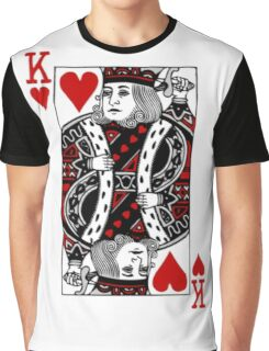king of hearts Valentines Day (his and her) Graphic T-Shirt
