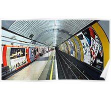 Baker Street Tube Station Poster