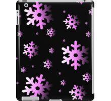 Pink Snowflakes iPad Case/Skin
