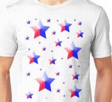 Patriotic Stars Unisex T-Shirt