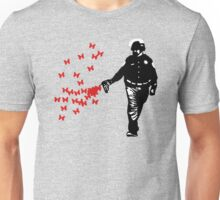 Police - Street Art Pepper Spray Cop Unisex T-Shirt