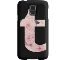floral tumblr logo Samsung Galaxy Case/Skin