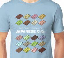 The Crazy World of Japanese KitKat Unisex T-Shirt