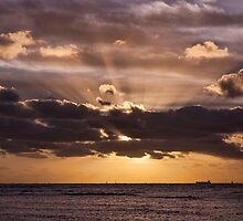 Sunset Rays by ea-photos