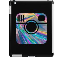 holographic instagram logo iPad Case/Skin
