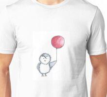 Penguin Red Balloon Unisex T-Shirt