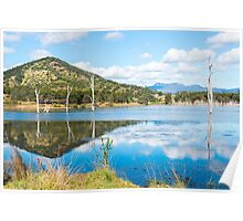 Lake Moogerah in Queensland during the day Poster