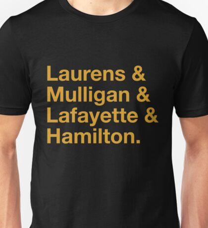 Hamilton Names Unisex T-Shirt