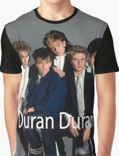 Vintage Duran Duran Band Graphic T-Shirt