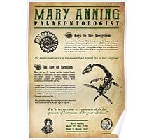 Mary Anning: Palaeontologist Poster