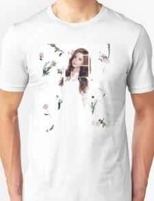 Girls' Generation (SNSD) Seohyun Flower Typography Unisex T-Shirt