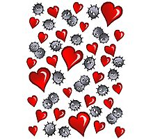 Hearts for Soot Sprites Photographic Print