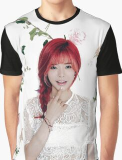 Girls' Generation (SNSD) Sunny Flower Typography Graphic T-Shirt