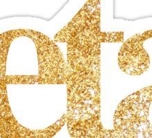 gold zeta. Sticker