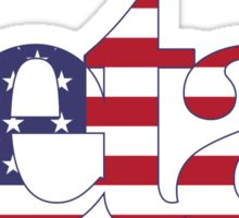 zeta americaaa Sticker