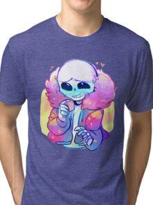 Cutie Sans Undertale Tri-blend T-Shirt