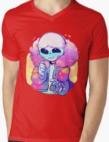 Cutie Sans Undertale Mens V-Neck T-Shirt