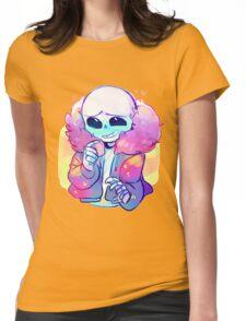Cutie Sans Undertale Womens Fitted T-Shirt