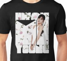 Girls' Generation (SNSD) Tiffany Flower Typography Unisex T-Shirt