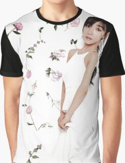 Girls' Generation (SNSD) Tiffany Flower Typography Graphic T-Shirt