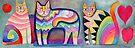 Happy cats 2 by Karin Zeller