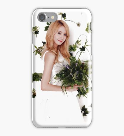 Girls' Generation (SNSD) Yoona Flower Typography iPhone Case/Skin