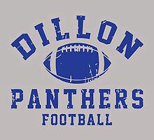 Dillon Panthers Football by Gimet
