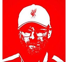 Klopp Red Photographic Print