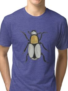 Cool Cute Bug Insect Drawing Tri-blend T-Shirt