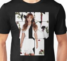 Girls' Generation (SNSD) Yuri Flower Typography Unisex T-Shirt