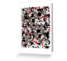 wasCrazy.camo Greeting Card