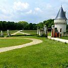 The Gatehouse of Chateau de Gizeux by hans p olsen