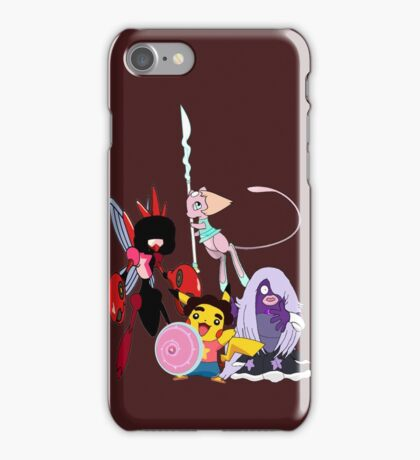 Steven Universe Meets Pokemon iPhone Case/Skin