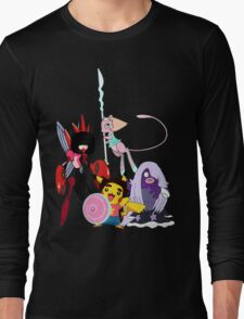 Steven Universe Meets Pokemon Long Sleeve T-Shirt