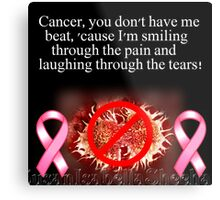 Laughing Through The Tears Metal Print