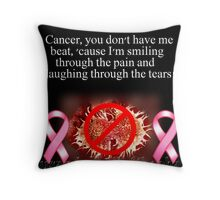 Laughing Through The Tears Throw Pillow