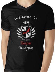 Welcome To Despair Academy Mens V-Neck T-Shirt