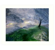 Earth Mother Wakes Art Print