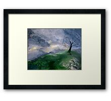 Earth Mother Wakes Framed Print