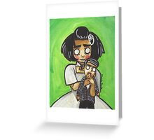 Cellar Child Greeting Card