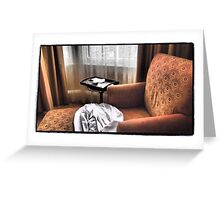 Roosevelt Chaise Greeting Card