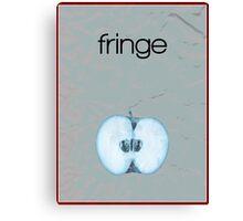 Fringe minimalist poster Canvas Print