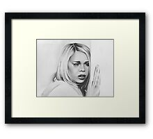 rose goodbye Framed Print